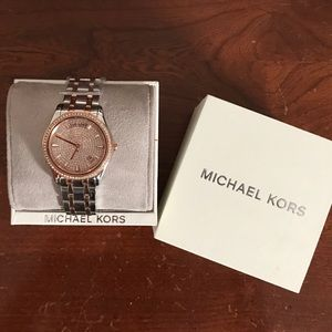 Michael Kors Kiley Rose Gold Watch - NWT ✨